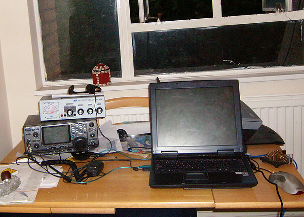 Amateur Radio Station G0RTN in the UK - Survival Radio and Long-Distance Communication for Survival