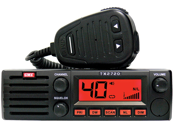 GME TX2720 27 MHz AM CB Radio - Survival Radio and Long-Distance Communication for Survival