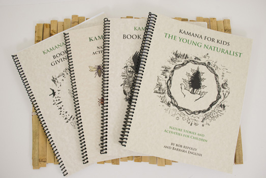 Check Out The Kamana Naturalist Training Program Materials at Wilderness Awareness School