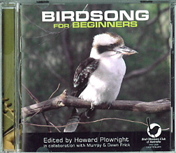 Birdsong For Beginners, Bird Observation and Conservation Australia (BOCA)