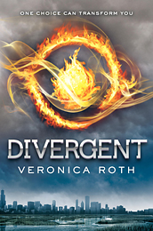 Divergent, the first book in the Divergent trilogy, Veronica Roth.
