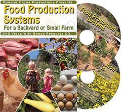 Food Production Systems for a Backyard or Small Farm (DVD) by Marjory Wildcraft