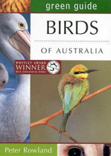 Common Birds of Australia (Green Guide), Peter Rowland