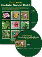 Herb Course: Wonderful World of Herbs DVD, Isabell Shipard.