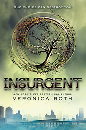 Insurgent, the second book in the Divergent trilogy, Veronica Roth.