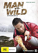 Man vs. Wild  Season 1 Collection 2 Wilderness Survival DVD - Push The Limits.