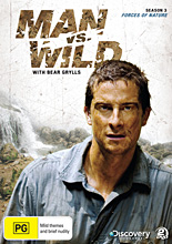 Man vs. Wild Season 3 Wilderness Survival DVD - Forces of Nature