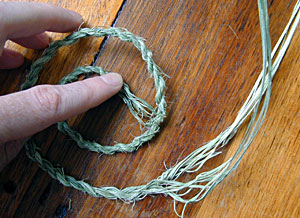 Making Cordage - My cordage