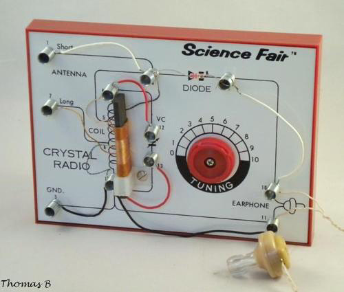 Crystal Radio Kit - Survival Radio and Long-Distance Communication for Survival