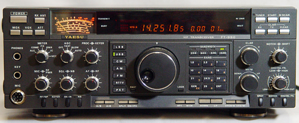 Yaesu FT-990 HF Amateur Transceiver - Survival Radio and Long-Distance Communication for Survival