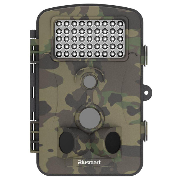 Blusmart Wildlife Camera (Trail/Hunting Camera), 12MP 1080P HD With Time Lapse and Infrared Night Vision, 2.4