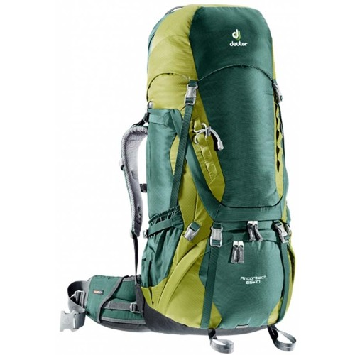 Deuter Aircontact 65 + 10 Trekking Backpack / Rucksack - The Most Essential Survival Gear / Equipment