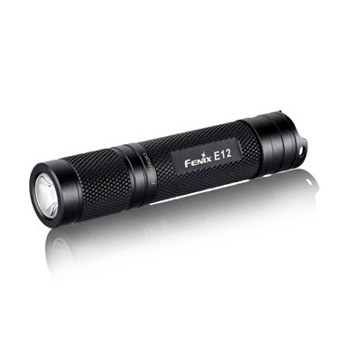 Fenix Flashlights E12 130-Lumen Flashlight, Black - The Most Essential Survival Gear / Equipment
