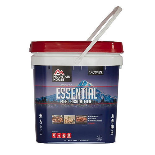 Mountain house Essential Food Bucket - The Most Essential Survival Gear / Equipment