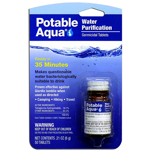 Water Purification Tablets - The Most Essential Survival Gear / Equipment