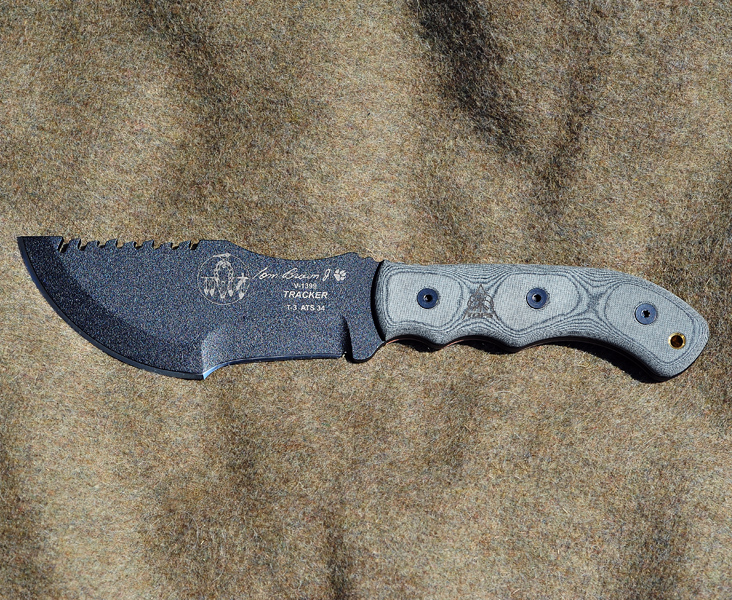 TOPS Tom Brown Tracker T-3 Knife  - The Most Essential Survival Gear / Equipment